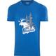 Bergans Elk Kortærmet T-shirt Herrer blå